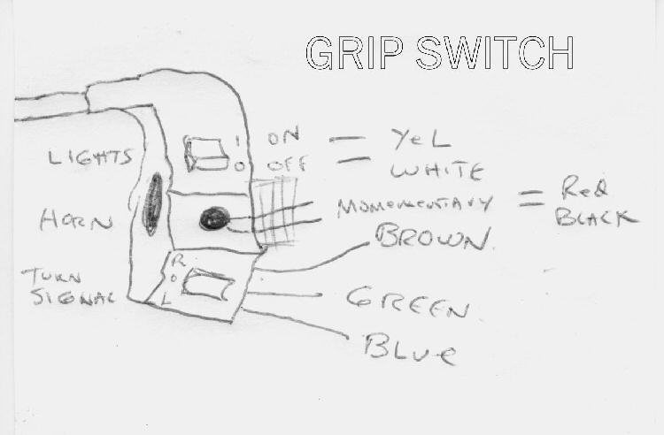 gripswitchwiring scooter electric parts, throttles, controllers, control boxes xg-470 gas scooter wiring diagram at suagrazia.org